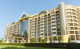 Hotel Victoria Palace in Sunny Beach, Bulgaria stock image