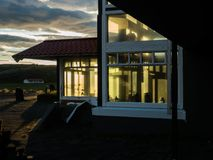 Hotel viejo islandia foto de archivo