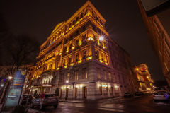 Hotel Vienna imperiale Fotografia Stock Libera da Diritti