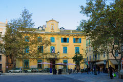 Hotel the Ville, Bastia Royalty Free Stock Photos