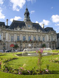 Hotel in the ville of Tours Stock Photo