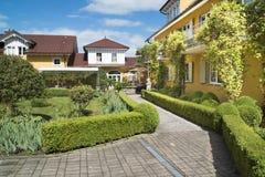 Hotel Villino, Lindau Royalty-vrije Stock Afbeeldingen