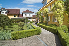 Hotel Villino, Lindau Royalty Free Stock Images