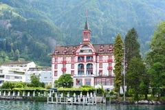Hotel Vitznauerhof Foto de archivo libre de regalías
