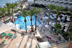 Eilat Hotel vocation pool Stock Photography