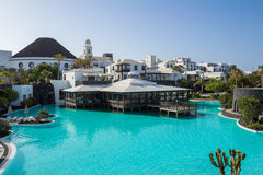 Hotel Volcà ¡ n Lanzarote Royalty-vrije Stock Foto's
