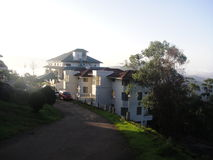Hotel von Kerala Stockbild