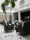Hotel-Vorhalle Lizenzfreies Stockbild