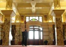 Hotel-Vorhalle Stockfoto