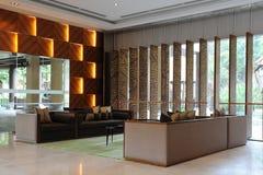 Hotel-Vorhalle Stockfotografie