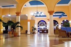Hotel-Vorhalle Lizenzfreie Stockbilder