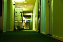 Hotel-Wäscherei Stockfoto