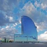 Hotel W Barcelona Stockfotos