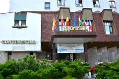 Hotel w grodzkim Targu-Mures obrazy stock