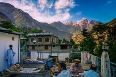 Hotel w Karakorum górach Zdjęcie Royalty Free