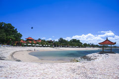 Sanurbeach kurort Bali Indonesia obraz stock