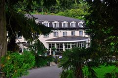 Hotel W lesie obrazy stock