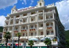Hotel w Opatija, Chorwacja Zdjęcie Stock
