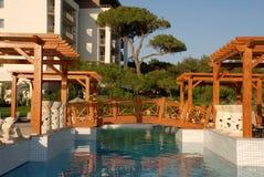 hotel w pine bridge Zdjęcie Royalty Free