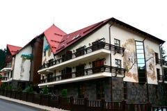 Hotel w Poiana Brasov obrazy stock