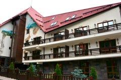 Hotel w Poiana Brasov obraz stock