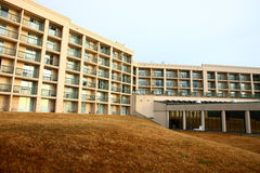 Hotel w ranek w bizonie Obrazy Stock