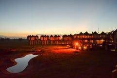 Hotel w sawannie Obraz Royalty Free