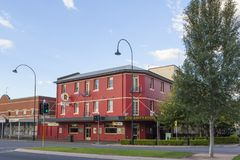 Hotel Wagga Wagga, NSW, Australien Stockbild