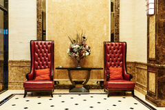 Hotel waiting hall Royalty Free Stock Photos