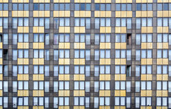 Hotel Wall. Windows Pattern. Abstract Texture royalty free stock photography