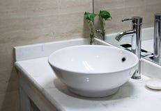 Hotel washroom interior Royalty Free Stock Images