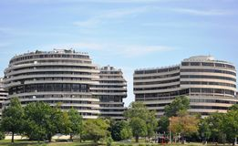Hotel Watergate. Royalty Free Stock Photos