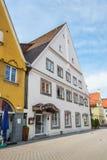Hotel Weisses Ross in Memmingen Stockfotografie