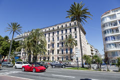 Hotel Westminster in Nice, France Royalty Free Stock Image