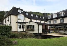 Hotel in Wicklow Mountains National Park. Stock Photo
