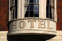 Hotel window Royalty Free Stock Images