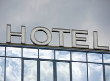 Hotel and windows Royalty Free Stock Photos
