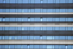 Hotel windows Royalty Free Stock Photography