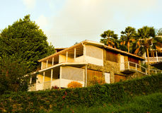 A hotel in the windward islands Stock Images