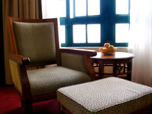 Hotel-Wohnzimmer Stockfotos