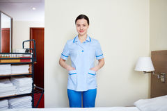 Hotel worker Stock Images