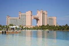 Hotel y casino de Atlantis imagen de archivo libre de regalías