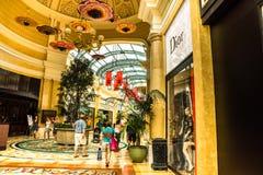 Hotel y casino de Bellagio Fotografía de archivo