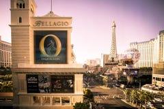 Hotel y casino de Bellagio Las Vegas imagenes de archivo