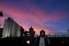 Hotel y casino 30 de Excalibur imagen de archivo libre de regalías