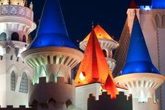 Hotel y casino de Excalibur imagenes de archivo
