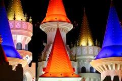 Hotel y casino de Excalibur Foto de archivo libre de regalías