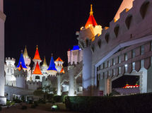 Hotel y casino de Excalibur Imagen de archivo