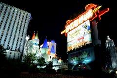 Hotel y casino de Excalibur en Las Vegas Imagen de archivo libre de regalías