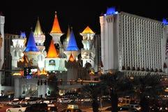 Hotel y casino de Excalibur en Las Vegas Fotos de archivo